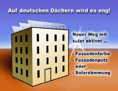 Auf deutschen Dächern wird es eng