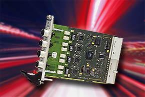 Fast-Ethernet-Schnittstellenkarte für Bahnsteuerungen