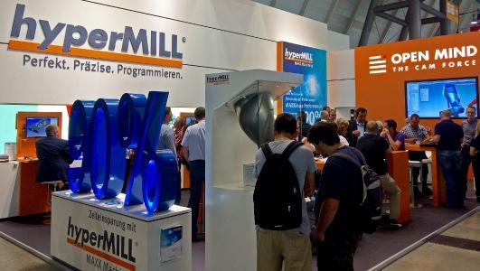 OPEN MIND erfolgreich auf der Moulding Expo, Bildquelle: OPEN MIND