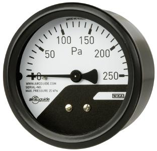 Differential pressure gauge A2G-mini (WIKA company photograph)