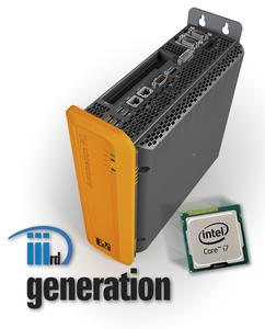 Intel® Core™ i3, Core™ i5 und Core™ i7 CPUs mit bis zu vier Kernen verleihen dem Automation PC 910 von B&R höchste Verarbeitungs- und Grafikleistungen.