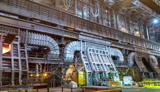 Das von der SMS group modernisierte Konverterstahlwerk Vizag Steel wurde erfolgreich in Betrieb gesetzt