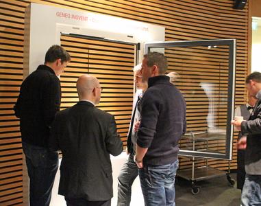 Mitte November lud REHAU die GENEO INOVENT Premium-Partner zu einer Auftaktveranstaltung ins Porschewerk nach Leipzig ein