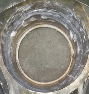 Zur Instandsetzung entferntes Keramikmodul