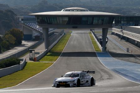 George Russell, BMW M Performance Parts M4 DTM, DTM Young Driver Test, BMW Motorsport, Jerez de la Frontera