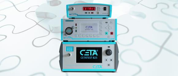 CETA leak and flow testers. Leak tester CETATEST 825 and XS. Flow tester CETATEST 915