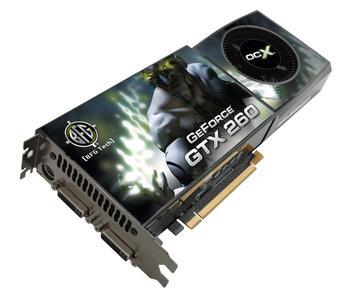 BFG Technologies kündigt übertaktete GeForce GTX 260 OC2? und OCX? Grafikkarten an
