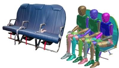 Expliseat uses ESI's Virtual Seat Solution to develop the world's lightest aircraft seat