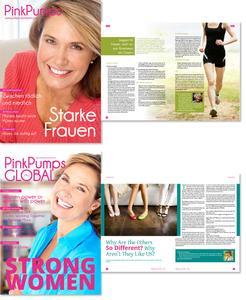 Eintauchen in die Welt der Frau: Im neuen Frauenmagazin PinkPumps
