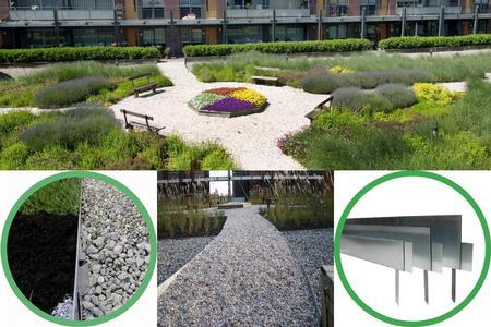 Rasenkanten aus Stahlblech mit dauerhafterem Korrosionsschutz - OBS ...