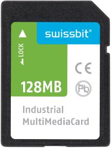 Im Consumer-Bereich obsolet, im industriellen Umfeld noch dringend gesucht und von Swissbit mit der M-120 geliefert: die Multimedia Card / Bildquelle: Swissbit