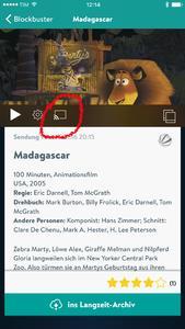 YouTV mit Google Cast Unterstützung