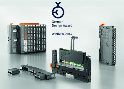 "Weidmüller ""u-remote"" remote I/O system is voted the ""Winner"" of the ""German Design Award 2014"""