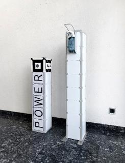 Power- und Desinfektionsstation