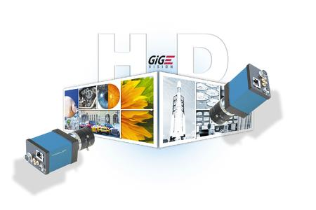 Prosilica GE1910 - HD-Camera with GigE-Vision-Interface for image processing and machine vision