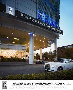 Rolls-Royce Opens New Showroom In Malaysia