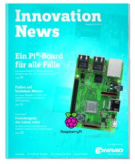 "Conrad Business Supplies liefert Online-Magazin ""Innovation News 03-2018"""