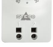 Bild STEGO Klein-Thermostate KTO 111 & KTS 111 - Detail Push-In Klemmen