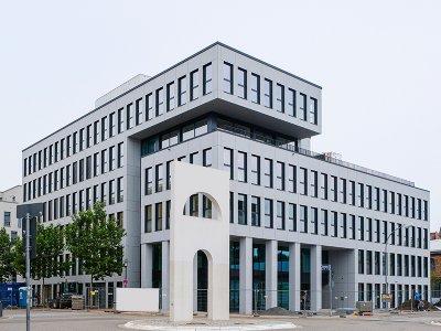 Faber-Firmenzentrale am Standort Eurobahnhof