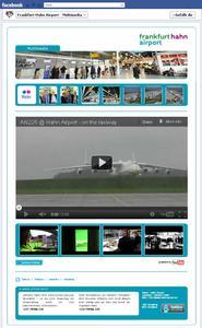 Die Multimedia-Seite informiert über die Hahn-Aktivitäten in sozialen Medien