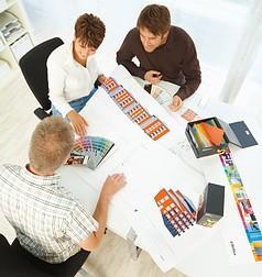 Farbgestaltung ist eine anspruchsvolle Disziplin – genau deshalb gibt es die Brillux Farbstudios.