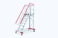 Baukastensystem: Der neue online verfügbare 3D-Konfigurator bietet eine Vielzahl an schnell einsetzbaren, kosteneffizienten Lösungen für Treppen, Podeste sowie Arbeits- und Wartungsbühnen