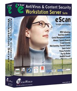 eScan Corporate is the comprehensive AntiVirus and Content Security solution that safeguards Servers and Workstations from Viruses, Spyware, Adware, Malware, Keyloggers, Hackers, Spammers, privacy related issues, objectionable content and many more.