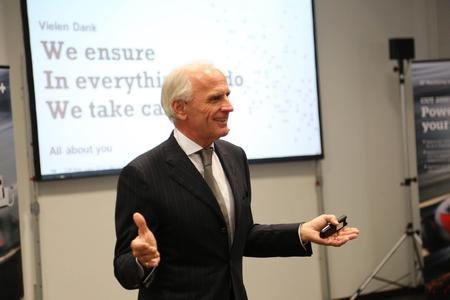 GF Agie Charmilles Europachef Bernhard Kasper ermutigte die Gäste zu Innovationen in Wachstumsmärkten.