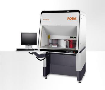 Laser marking machine FOBA M3000-R