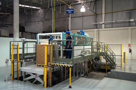 The Wrapmatic GRM provides Pochteca with the very latest technology in the field of folio-size packaging in Mexico