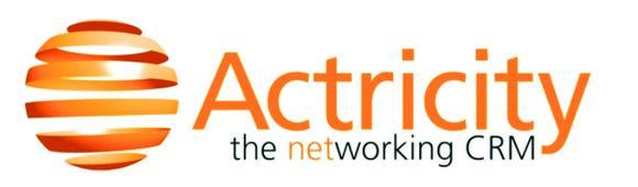 Actricity punktet auf der Orbit 2008  mit 360° CRM Portal
