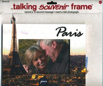 Sprechender Rahmen Motiv Paris