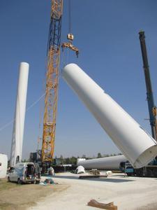 vortex energy i Max Bögl wspólnie budują w Polsce park wiatrowy o mocy 25MW