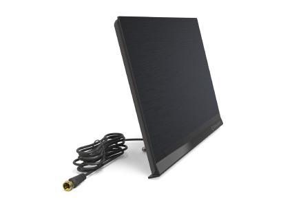 Schön scharf: Die Oehlbach DVB-T2 Antenne Flat Style One