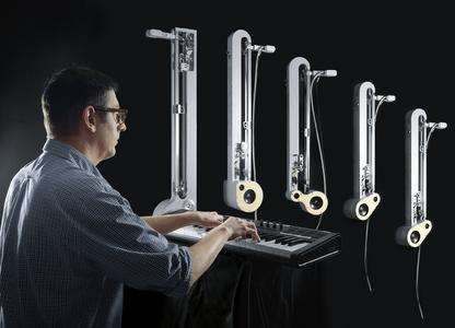 Sound Machines 2.0 - musikalisches Ensemble aus Klangrobotern