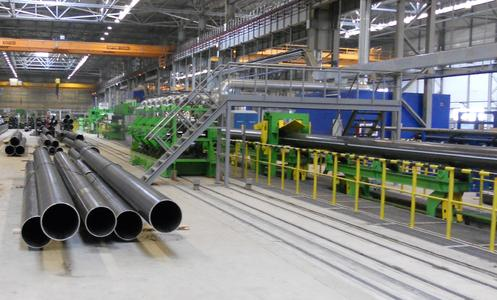 Gazpromtrubinvest produziert erfolgreich auf 16″-HF-Rohrschweißlinie von SMS group