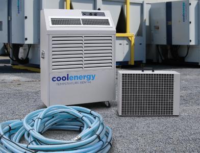 Der kompakte Cool Clima 6.7 arbeitet ohne Kältemittel in den Verbindungsschläuchen.
