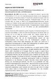 [PDF] Pressemitteilung: engram auf GAD FORUM 2009