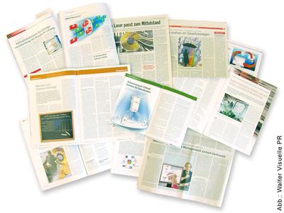 Werten jede Presseveröffentlichung auf: Aussagekräftige PR-Bilder, Grafiken und Collagen