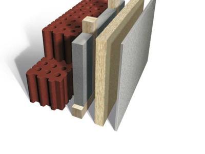 intelligent: INTHERMO WDVS zur Mauerwerkssanierung auf Holzlattung - zusätzliche Installationsebene inklusive!