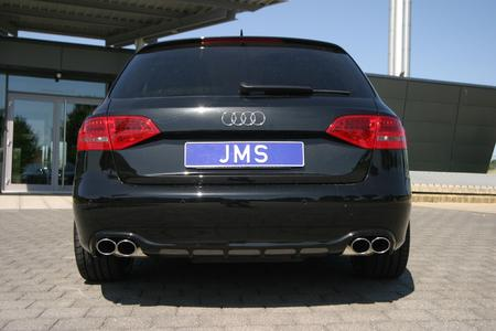 Audi A4 B8 tuning from jms with 20 inch aluminum ghost wheels