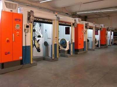 Maschinenschutztore von Albany Door Systems