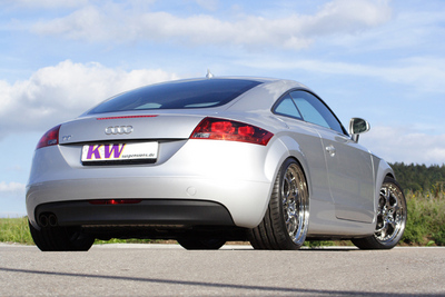 Sportier appearance and better handling: KW coilover suspensions V1, V2 and V3 for the new Audi TT