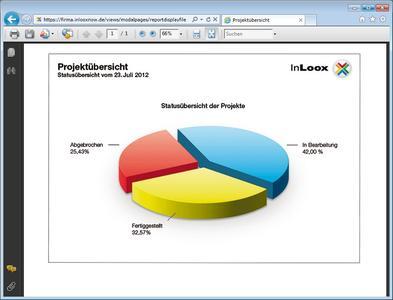 InLoox now! Berichtsgenerator