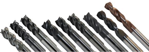 HPC-Werkzeuge der Spanabhebenden Präzisionswerkzeuge GmbH für Hochleistungsbearbeitungen