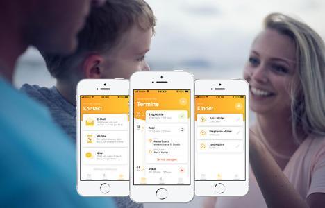 App für die Mütter- und Väterberatung