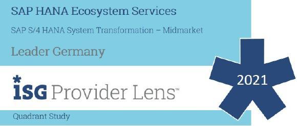 Arvato Systems durch ISG als Leader ausgezeichnet (Copyright: ISG / Arvato Systems)