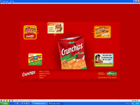 Screenshot der Website www.crunchips.de