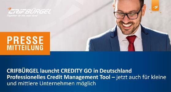 CRIFBÜRGEL launcht CREDITY GO in Deutschland