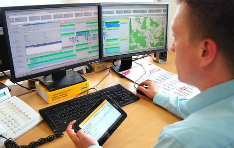 Die nordhessische Internationale Spedition Krug setzt auf die Verbindung aus mobiler Telematik und modular aufgebauter Speditionssoftware Komalog